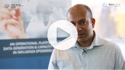 Pr Harish Nair, Partner in the BIRD project of Burden of Influenza and RSV Disease